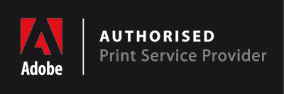 ADOBE authorised print service provider